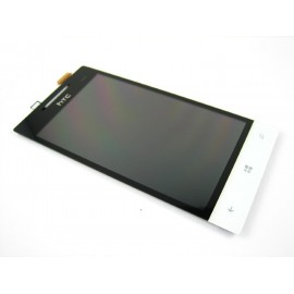Ecran LCD + Vitre tactile HTC 8S blanc