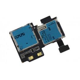Lecteur Sim + Carte mémoire Galaxy S4 i9505