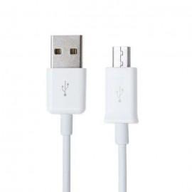 Câble micro usb blanc