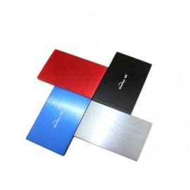 Boitier externe disque dur 2.5 pouces (9,5mm) SATA USB 2.0 Metal Silver