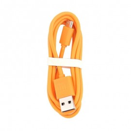 Câble micro usb orange