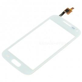 Vitre tactile Samsung Trend S7560 Blanche (avec sticker)