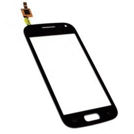 Vitre tactile Samsung Trend S7560 Noire (avec sticker)