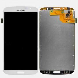 Vitre tactile et écran LCD Samsung Galaxy Mega i9205 blanc (Compatible AAA)