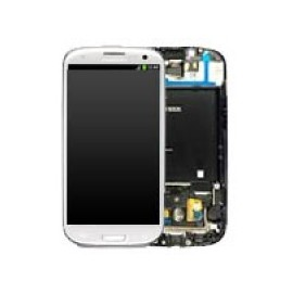 Vitre tactile et écran LCD Samsung Galaxy S3 blanc i9305 (Compatible AAA)