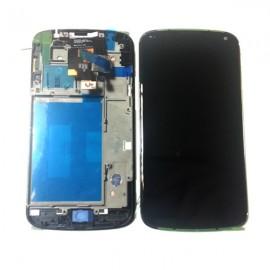 Ecran LCD + vitre tactile + châssis LG Nexus 4 E960 Noir (Officiel) ACQ86270901