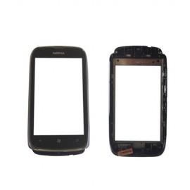 Vitre tactile Nokia Lumia 610 + Châssis Noir