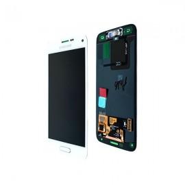 Vitre tactile et écran LCD Galaxy S5 Mini blanc G800F GH97-16147B (officiel)