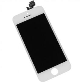 Ecran LCD + vitre tactile iPhone 5C blanc Fournisseur V