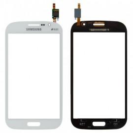 Vitre tactile Samsung Galaxy Grand i9060 Blanc (nappe rouge ref C4R1L1C3/C2C1)