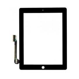 Vitre tactile noire + scotch 3M iPad 3/4 Fournisseur T