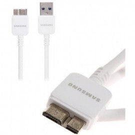 Câble USB pour Samsung Galaxy Note 3 USB 3.0 Blanc 1m