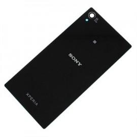 Vitre arrière noire Sony Xperia Z1 Pré-collée (Générique AAA)