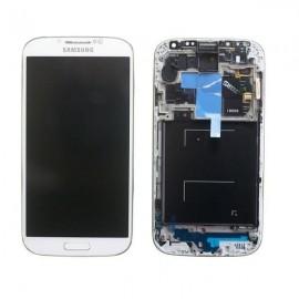 Vitre tactile et écran LCD S4 i9506 GH97-15202A blanc (Officiel)