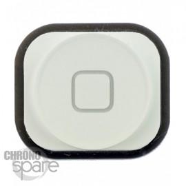 Bouton Home Blanc iPhone 5 avec caoutchouc