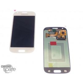 LCD + vitre Galaxy ACE 4 G357 blanc (officiel) GH97-15986A