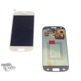 LCD + vitre Galaxy ACE 4 G357 blanc (officiel) GH97-15986A