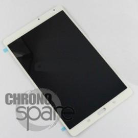 Vitre Tactile + Ecran LCD Samsung Galaxy Tab S 8.4 (T700) GH97-16047A Blanc (officiel)