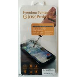 Vitre de protection en verre trempé Samsung Note 2 avec Boîte