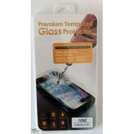 Vitre de protection en verre trempé Samsung Galaxy Note 2 avec Boîte