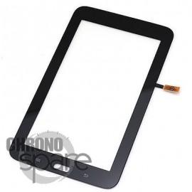 Vitre tactile Noire Samsung Galaxy Tab3 Lite T110
