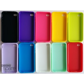Coque silicone iPhone 4/4s Rouge