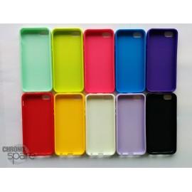 Coque silicone iPhone 5/5S Vert