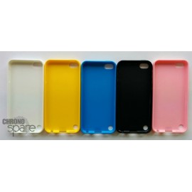 Coque silicone Ipod Touch 5 Jaune