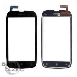 Vitre tactile Nokia Lumia 610 noir