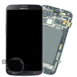 Vitre tactile + Ecran LCD + Châssis Samsung Galaxy Mega 6.5 i9205 Noir (Officiel) GH97-14751A