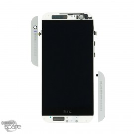 Vitre tactile + écran LCD + châssis HTC One M8 Silver