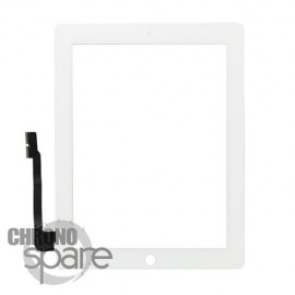 Vitre tactile blanche iPad 3/4 Fournisseur T