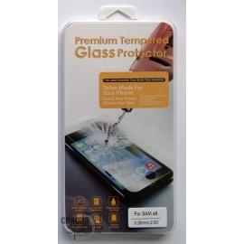 Vitre de protection en verre trempé Samsung Galaxy S6 avec Boîte
