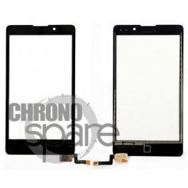 Vitre tactile noire Nokia XL Dual Sim RM-1030