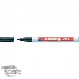 Marqueur Noir E-750 Edding Largeur de trait 2 - 4 mm