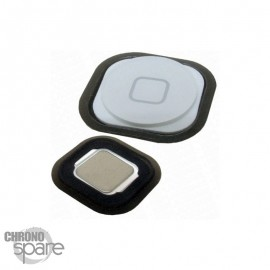 Bouton home blanc ipod touch 5 avec caoutchouc