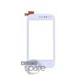 Vitre tactile Wiko Cink Slim Blanche AAA (compatible)