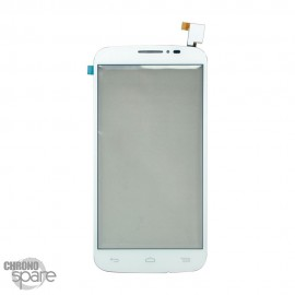 Vitre tactile Alcatel One Touch Pop C7 7041D Blanche