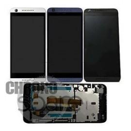 Ecran LCD + Vitre Tactile Noire pour HTC Desire 626