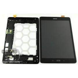 LCD + Vitre tactile noire Galaxy Tab A T550 (officiel) GH97-17400D