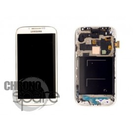 Modifier : Ecran LCD + Vitre Tactile + Chassis Galaxy S4 i9505 blanc (Compatible AAA)