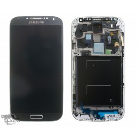 Ecran LCD + Vitre Tactile + Chassis Galaxy S4 i9505 gris/noir (Compatible AAA)