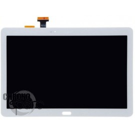 Ecran LCD + Vitre Tactile + Chassis Galaxy Note P600/P6000 Blanc (Compatible AAA)