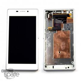 Ecran LCD + Vitre Tactile Blanche Sony Xperia M2 (officiel)