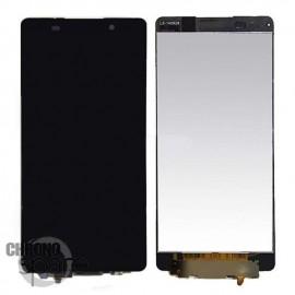 Ecran LCD + Vitre Tactile noire Sony Xperia Z5 E6603/E6653
