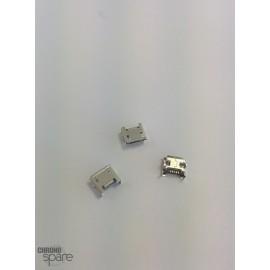 Connecteur Micro USB 4 pattes verticales / pins courts