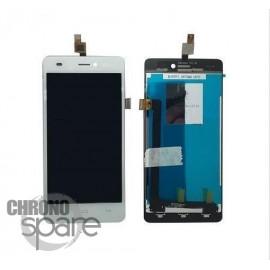 Ecran LCD et Vitre Tactile blanche Wiko Highway Signs - M121-P08050-000