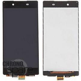 Vitre tactile noire + Ecran LCD Sony Xperia Z3+ (E6553)