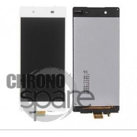 Ecran LCD + Vitre tactile blanche Sony Xperia Z3+ (E6553)