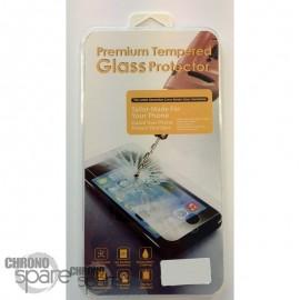 Vitre de protection en verre trempé Samsung J7 J710F avec Boîte